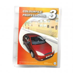 DIA Colourfile Professional 3 - Ring Bound Edition - Front
