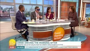 DIA CEO Carly Brookfield joined Piers Morgan and Susanna Reid on Good Morning Britain to discuss the issue of drink-driving