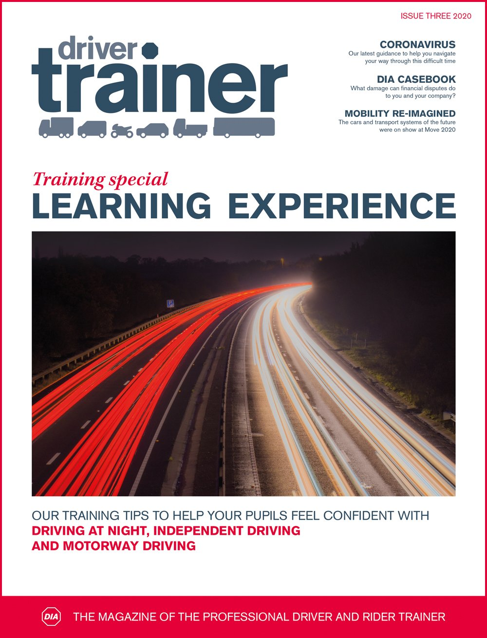 Driver Trainer | Issue Three 2020 Cover